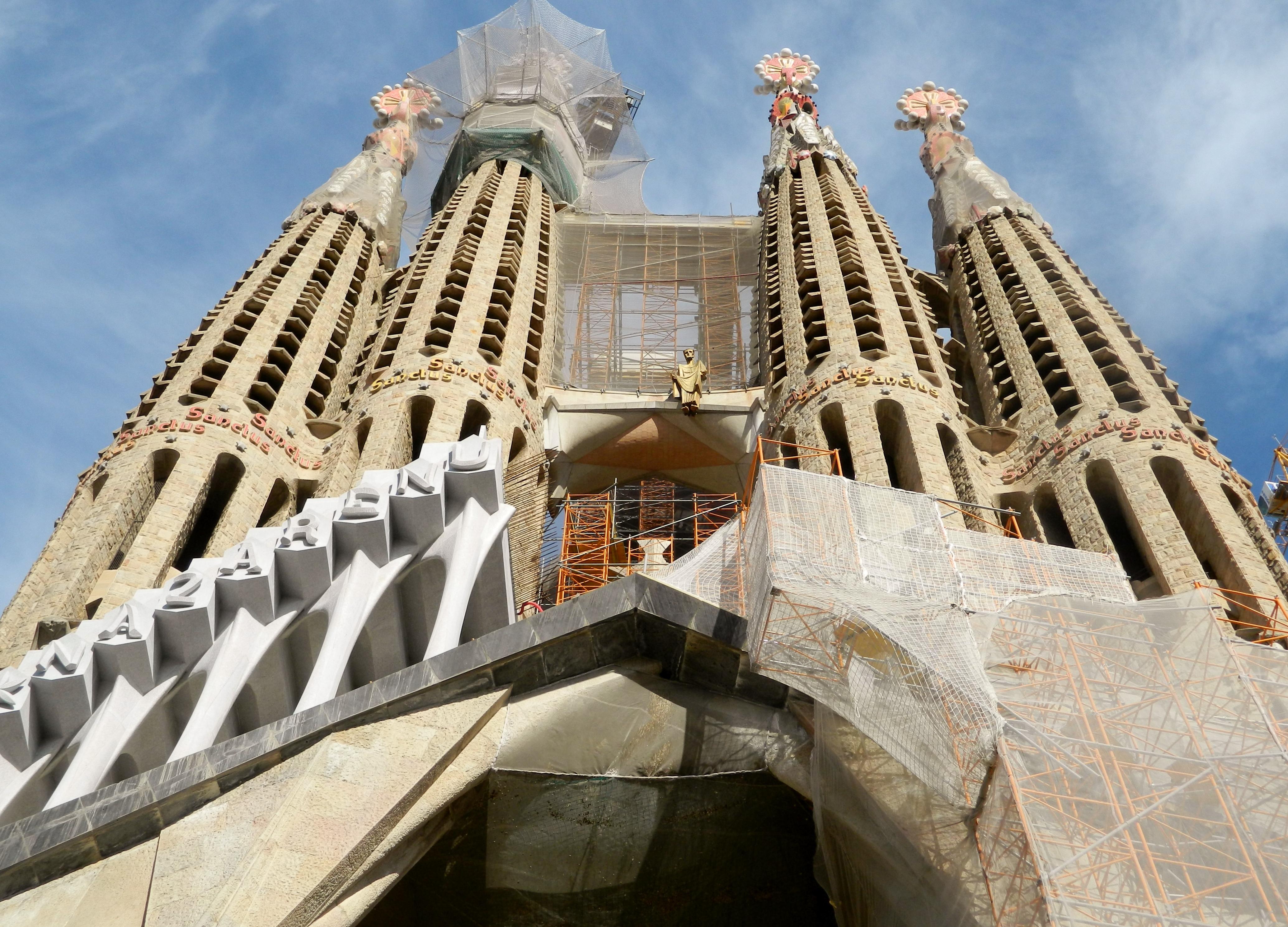 Familia: The Gallery For --> Sagrada Familia Passion Facade